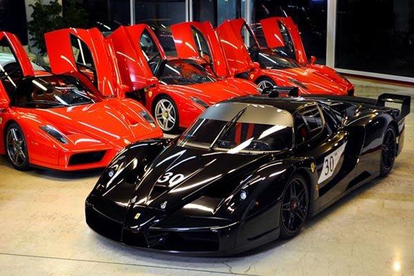 Deux Ferrari ex-Schumacher à vendre