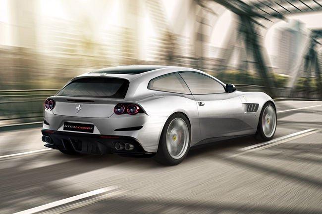 Un bloc V8 pour la nouvelle Ferrari GTC4lusso T