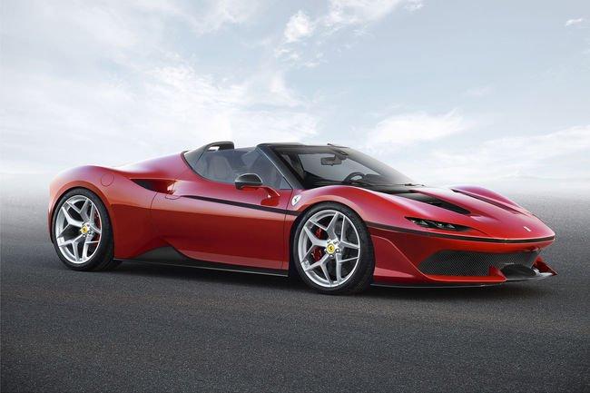 La J50, une Ferrari anniversaire japonaise
