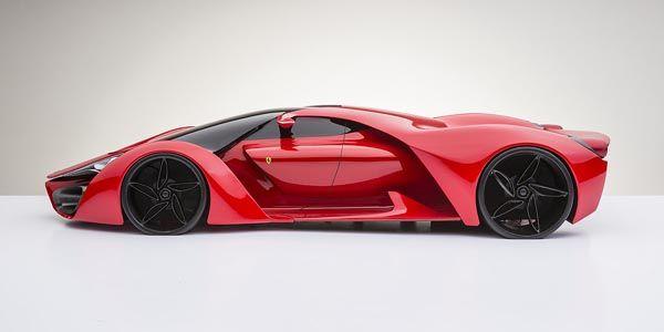 Concept Ferrari F80 par Adriano Raeli