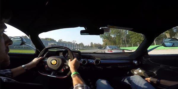 Embarquez en LaFerrari à Monza