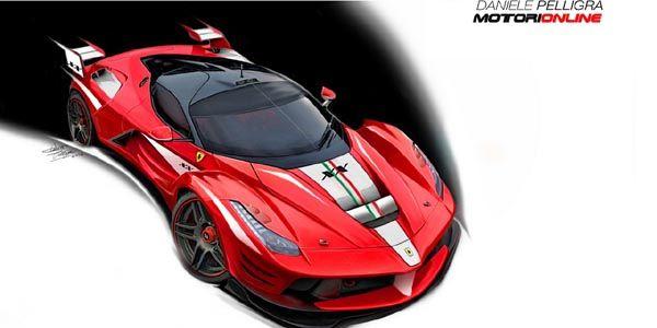 Ferrari LaFerrari XX par Daniele Pelligra