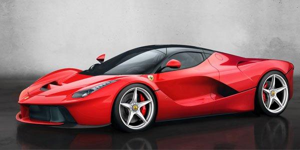 Ferrari : LaFerrari au Grand Palais