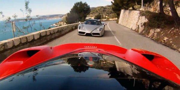 La Ferrari LaFerrari en promenade