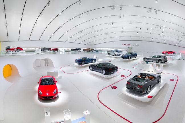 Ferrari : exposition « Timeless Masterpieces » à Modène