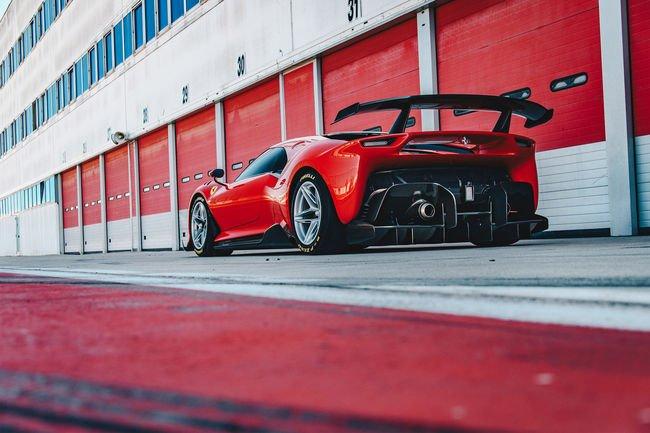 Ferrari P80/C, le plus extrême des one-off