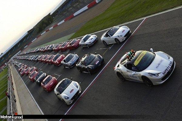 Ferrari : record à Silverstone