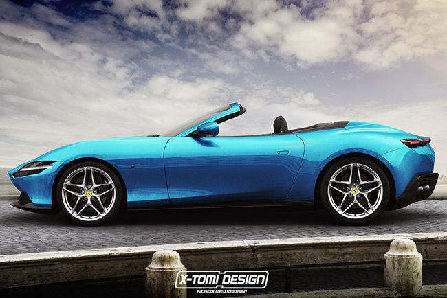 Ferrari Roma GTS et Shooting Brake par X-Tomi Design