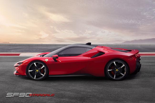 Ferrari SF90 Stradale : Supercar hybride de 1000ch