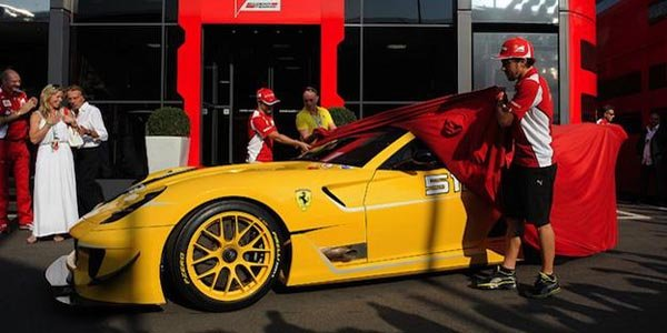 Ferrari soutient l'Émilie Romagne