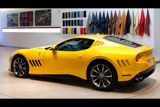 La Ferrari SP 275 rw competizione en détails