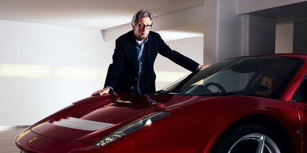 la Ferrari SP12 EC d'Eric Clapton