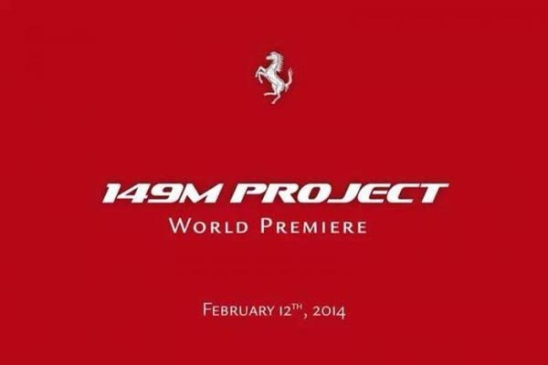 Ferrari tease son 149M Project