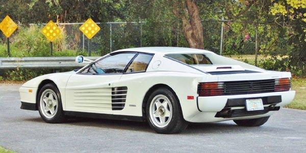 A vendre : Ferrari Testarossa ex-Miami Vice