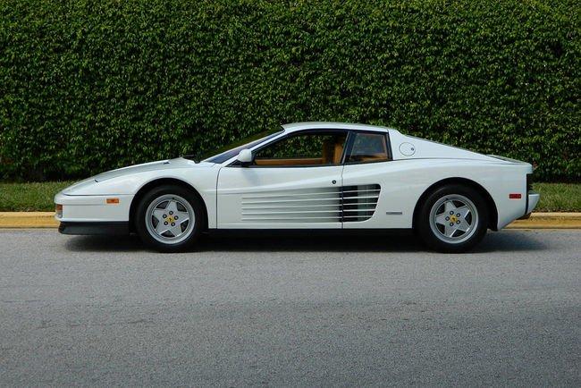 La Ferrari Testarossa du Loup de Wall Street est à vendre