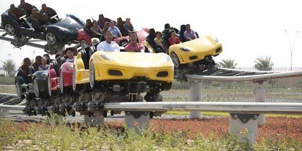 Vidéo tour de Ferrari World
