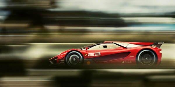 Ferrari Xezri : pour la compétition