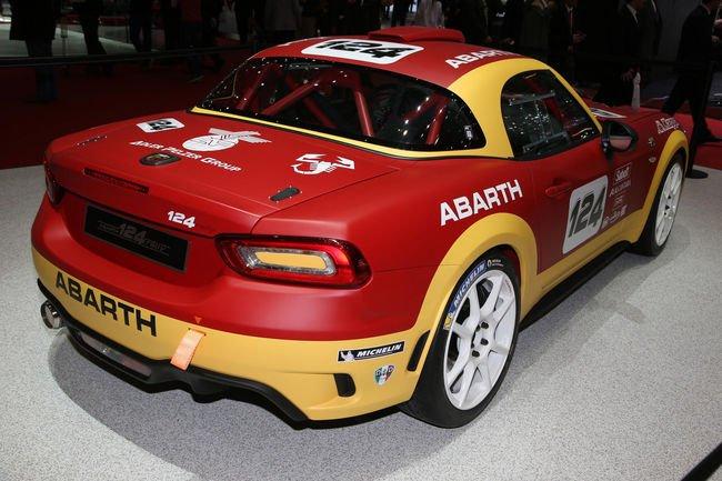 Une version Rallye de la Fiat 124 signée Abarth