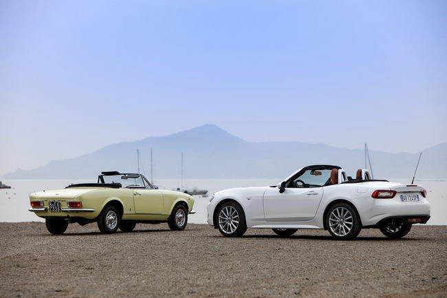 Fiat fête les 50 ans de la 124 Spider