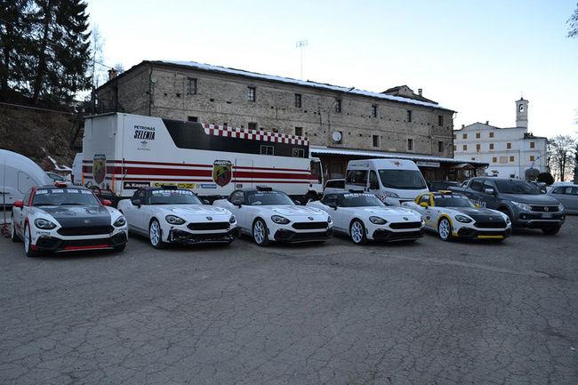 La Fiat Abarth 124 Rally en lice au Monte Carlo