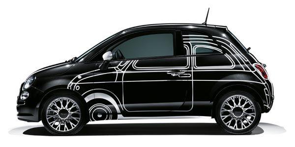 Une série spéciale Ron Arad pour la Fiat 500