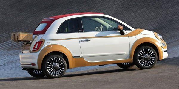 Une Fiat 500 unique adjugée 55 000 €