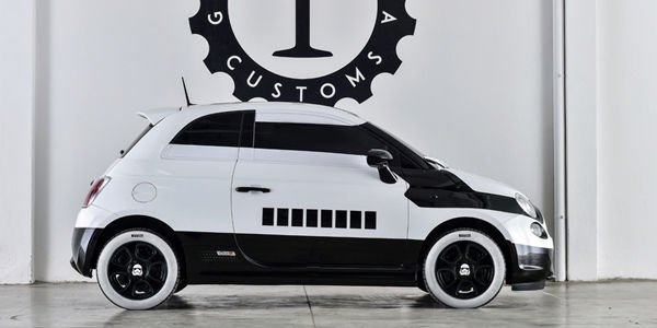 Fiat 500e Stormtrooper par Garage Italia Customs