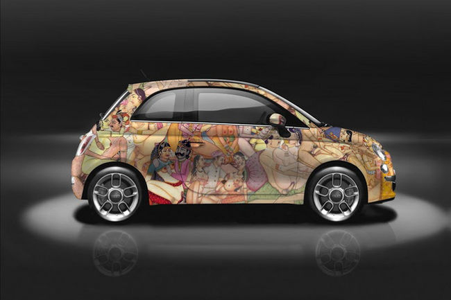 Fiat 500 Kar-Masutra par Garage Italia Customs