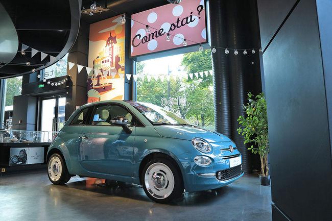 Expo : la Fiat 500 fête ses 60 ans à MotorVillage