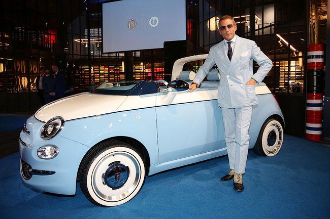 60ème anniversaire de la Fiat 500 Spiaggina