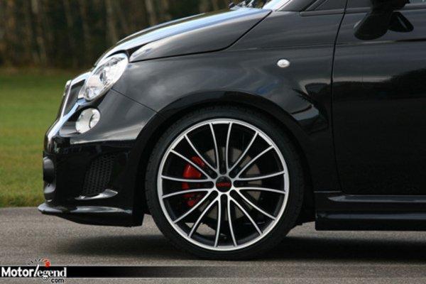 novitec retouche l 39 abarth 500 actualit automobile motorlegend. Black Bedroom Furniture Sets. Home Design Ideas