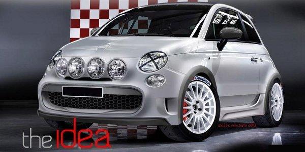 La Fiat 500 Marcia Corta par Camal