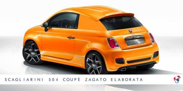 Scagliarini 504 Coupe Zagato Elaborata