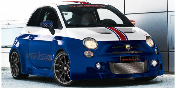 "Fiat 500 Abarth Stradale ""USA Tribute"""