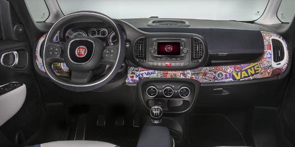 Fiat se met au surf avec le concept 500L-Vans