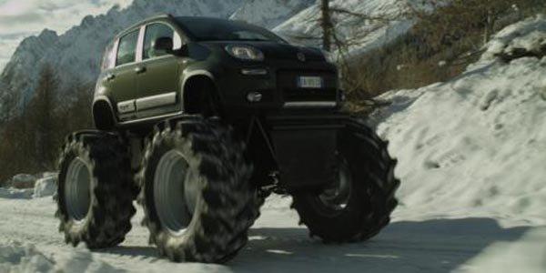 La Fiat Panda 4X4 joue les Big Foot !