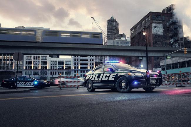 La Police américaine s'équipe de Ford Fusion hybrides