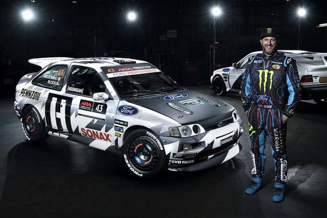Ken Block présente sa Ford Escort RS Cosworth