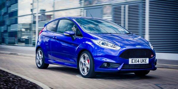 Une Ford Fiesta ST plus équipée pour l'Angleterre