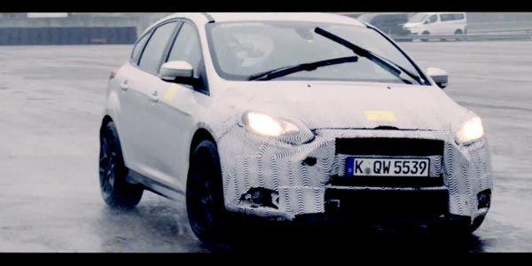 Teaser vidéo pour la nouvelle Ford Focus RS