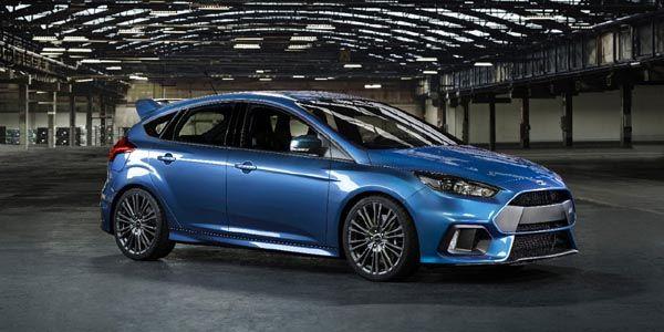 Nouvelle Ford Focus RS : débauche de technologie