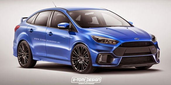 X-Tomi Design revisite la Ford Focus RS