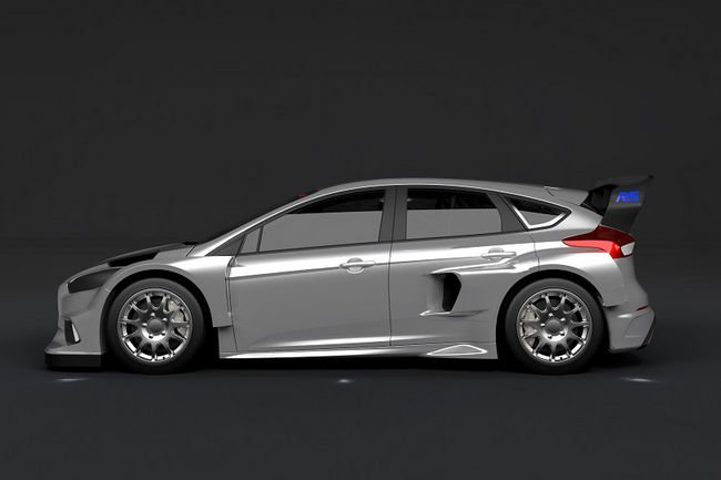 La Ford Focus RS en World Rallycross avec Ken Block