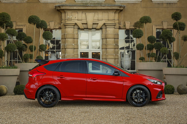 Ford Focus RS Red Edition : pour le Royaume-Uni