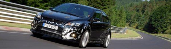 La Ford Focus RS joue à cache-cache