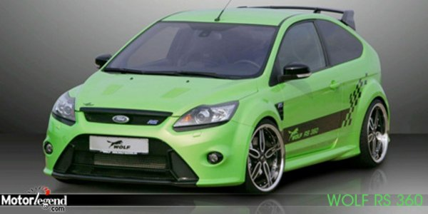 Ford Focus RS par Wolf Racing