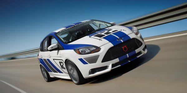 Salon de Francfort : Ford Focus ST-R