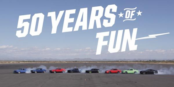 Ford Mustang et 50 ans de fun !