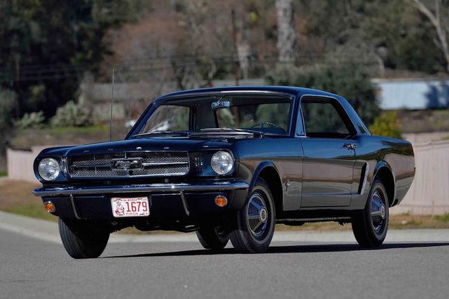 La première Mustang hardtop aux enchères