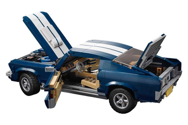 La Ford Mustang intègre la gamme Lego Creator